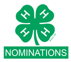 Cover photo for 4-H 2018 Nominations