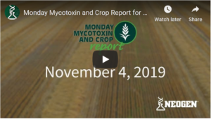 mycotoxin video update start screen